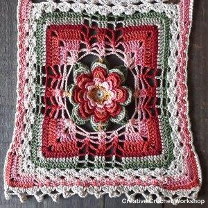 Dancing Water Lilies Wrap | Creative Crochet Workshop @creativecrochetworkshop #crochetalong #crochetshawl #crochetwrap #ccwdancingwaterlilieswrap #crochetpattern