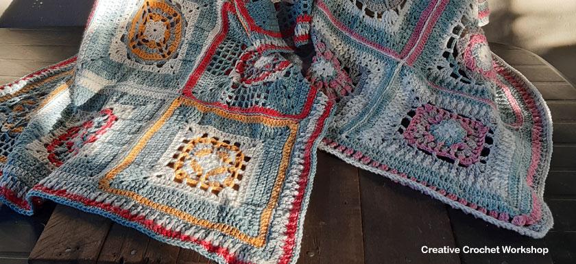 Crochet A Block Afghan 2019 | Creative Crochet Workshop