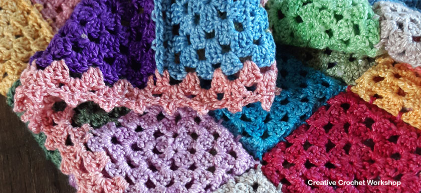 Lock Down Mood Blanket - Free Crochet Pattern | Creative Crochet Workshop @creativecrochetworkshop #freecrochetpattern #crochetbabyblanket #crochetalong #ccwlockdownmoodblanket