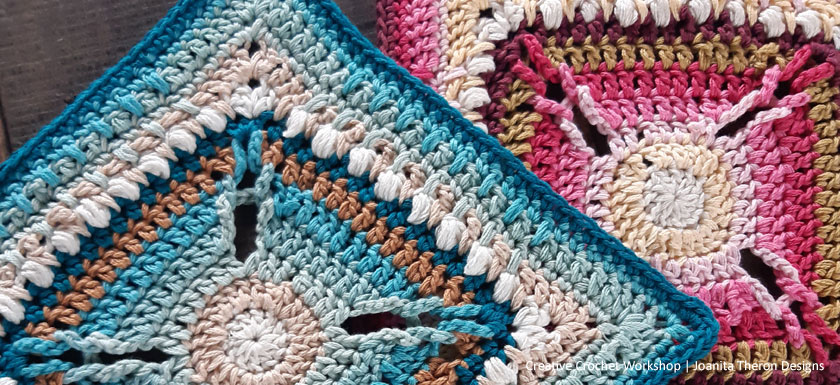 Mazu Whirl Crochet Square - Crochet A Block 2021 | Creative Crochet Workshop @creativecrochetworkshop #crochetsquare #freecrochetalong #crochetblanket #crochetthrow #ccwcrochetablock2021
