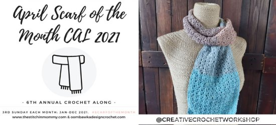 Snazzy Color Crochet Scarf - Free Crochet Pattern | Creative Crochet Workshop #freecrochetpattern #crochet #crochetaccessory #crochetscarf @creativecrochetworkshop #ScarfoftheMonth @thestitchinmommy @oombawkadesigncrochet