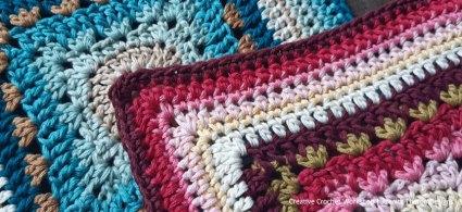 Front Post Frame Crochet Square - Crochet A Block 2021   Creative Crochet Workshop @creativecrochetworkshop #crochetsquare #freecrochetalong #crochetblanket #crochetthrow #ccwcrochetablock2021