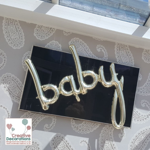 Baby Letter Balloons
