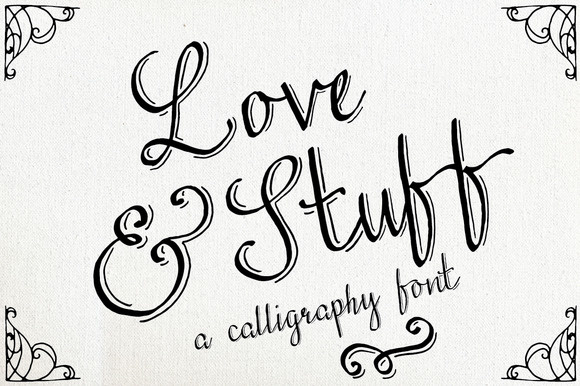 Download Download Love & Stuff Pack Script & Handwritten Fonts ...