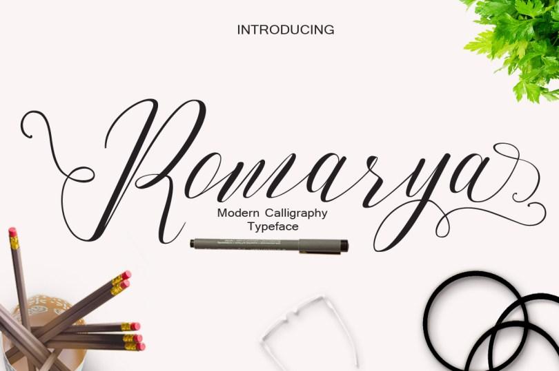 Romarya Font