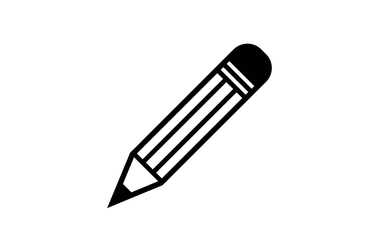 Pencil Icon Vector Eps 10 Graphic By Hoeda80 Creative