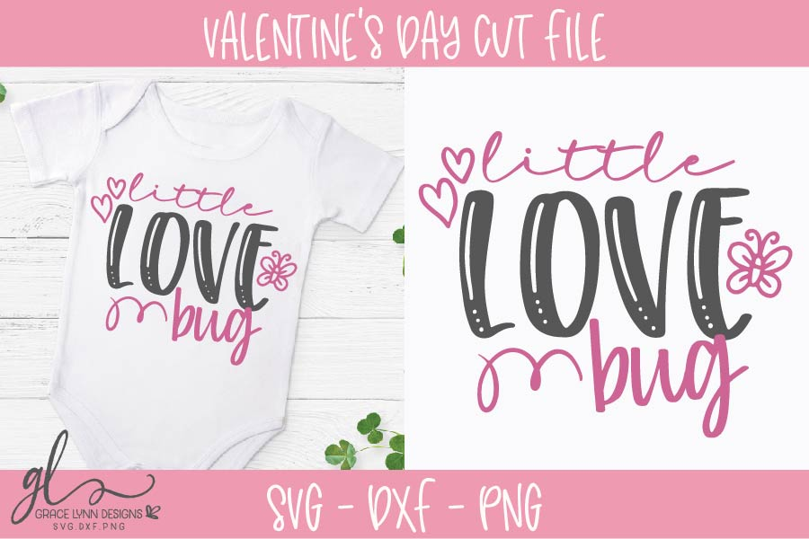 Download Little Love Bug - Valentine's Day SVG Graphic by ...