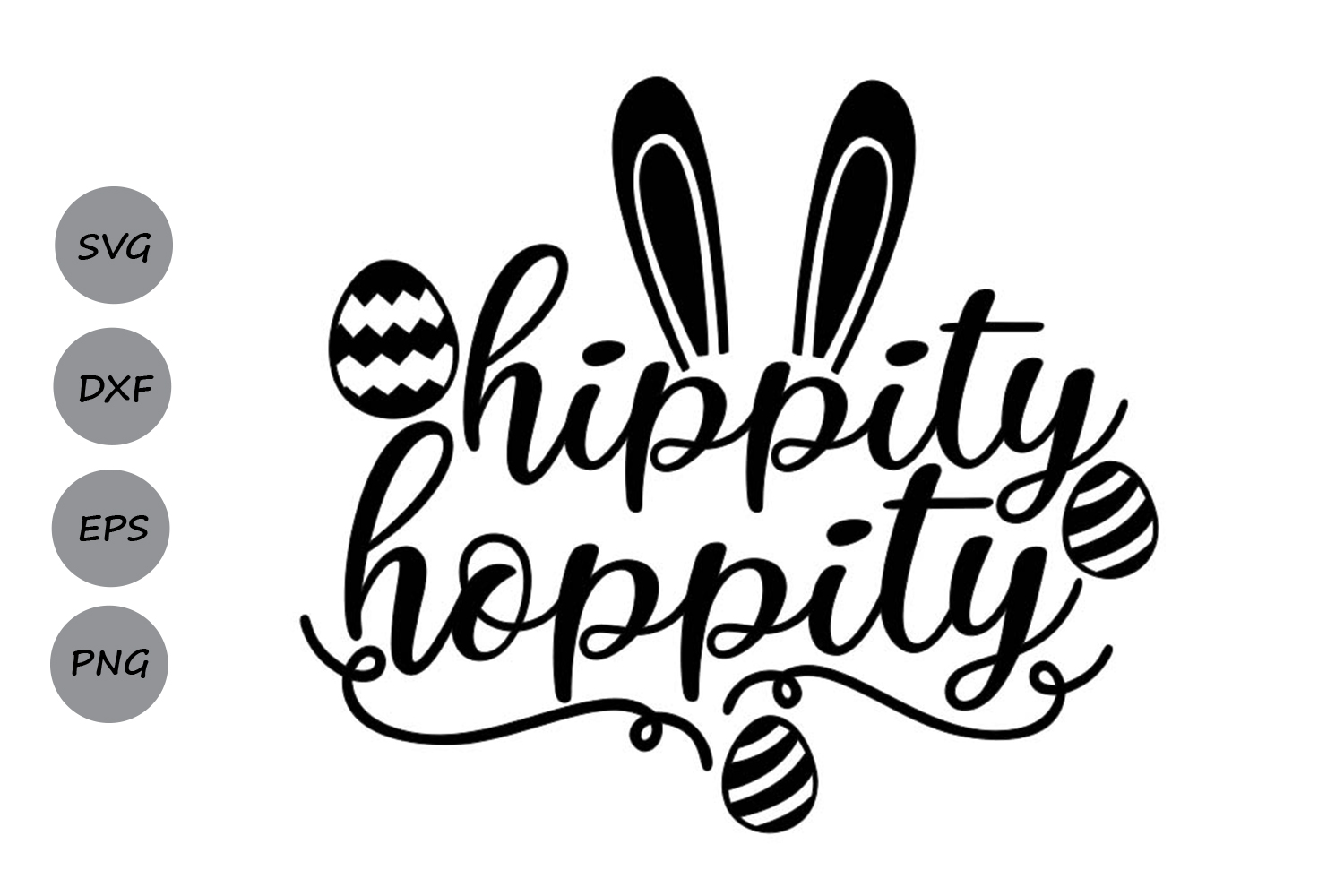 Hippity Hoppity Svg Graphic By Cosmosfineart