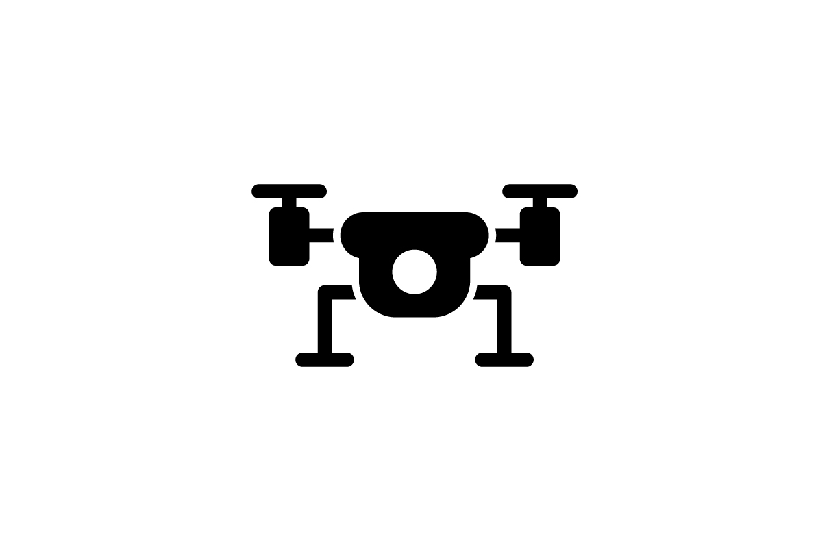Drone Icon Graphic By Ahlangraphic