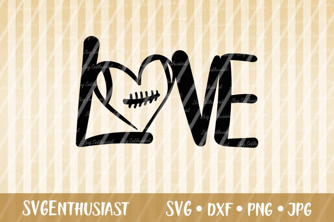 Download Love Football SVG Cut File Graphic by SVGEnthusiast ...