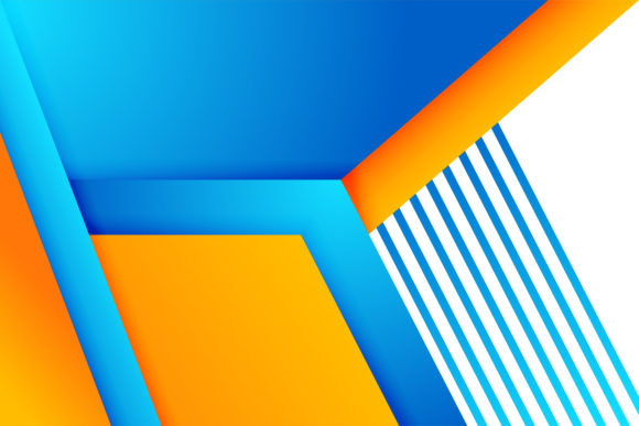 Orange Blue Gradient Background Graphic By Noory Shopper Creative Fabrica