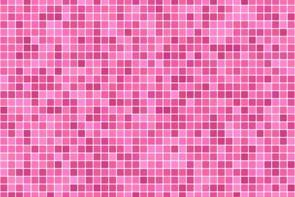 square mosaic pink tile background
