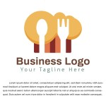 Business Food Logo Template Graphic By Bllinkstudio Creative Fabrica