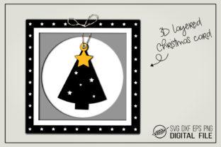 Seventh, it is estimated that 3d christmas cards craft. 3d Christmas Card Christmas Tree Grafico Por Boertiek Creative Fabrica