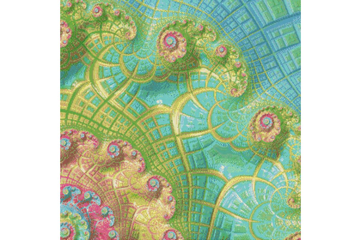 Fractal Cross Stitch Pattern