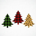 Christmas Tree Svg Buffalo Plaid Xmas Graphic By Svg Den Creative Fabrica
