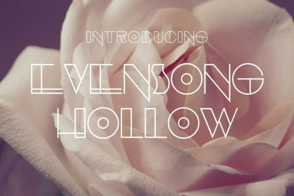 Evensong Hollow Fonts 8548682 1 1