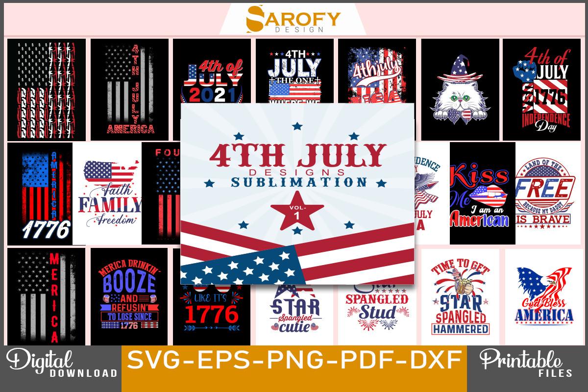 4th July Design Sublimation Bundle