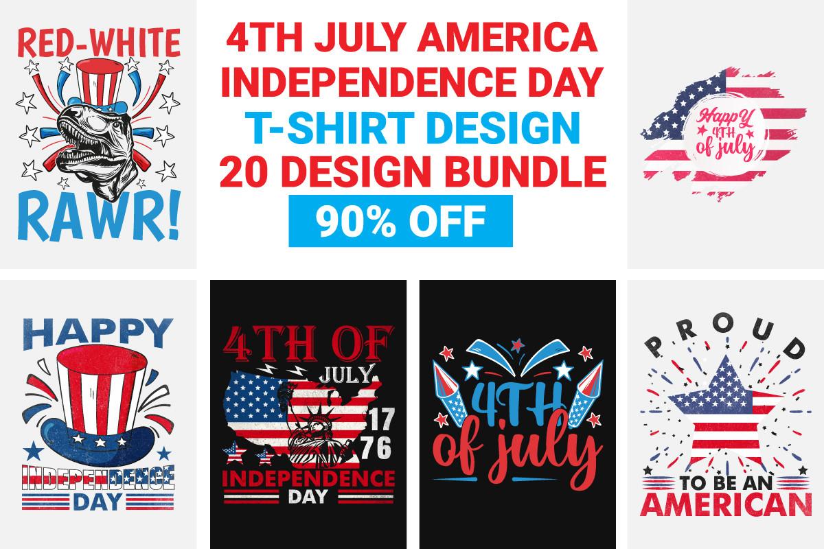 4th July USA Independence Shirt Bundle