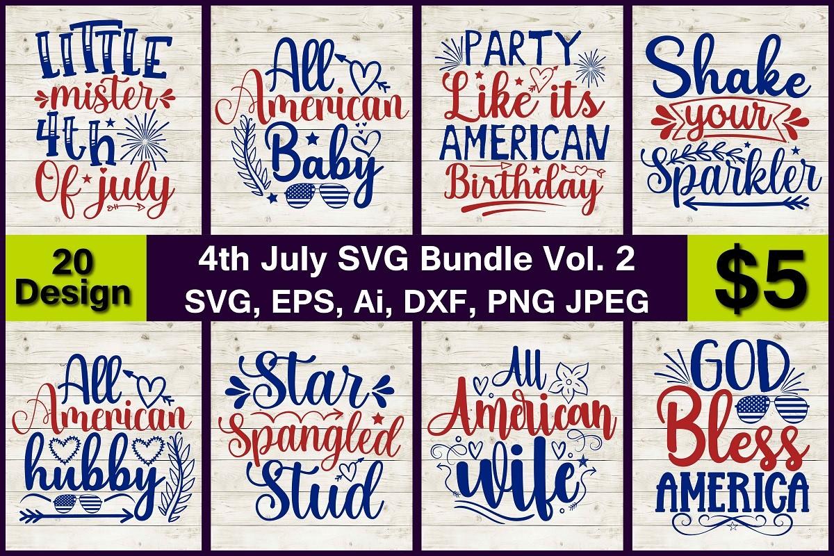 4th July SVG Bundle Vol.2