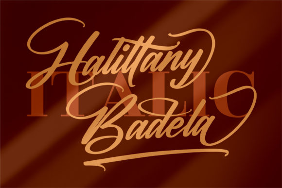 Halittany Badela Fonts 14967765 2