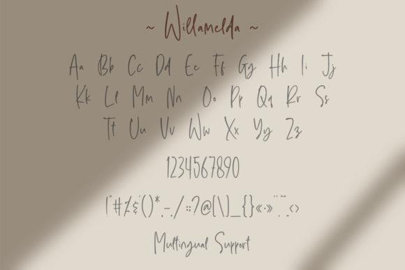 Willamelda Fonts 15127209 3