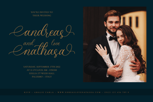 Amanda Calligraphy Fonts 17607122 3