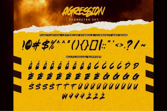 Agression Fonts 17675315 3