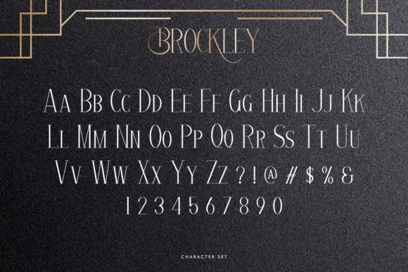 Brockley Fonts 17799829 4
