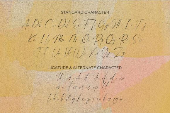 Ponpewd Signature Script Fonts 17789734 3