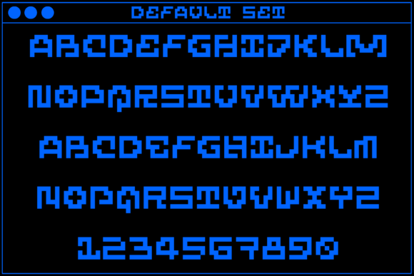 MultiType Maze Cryptic Fonts 18001023 2