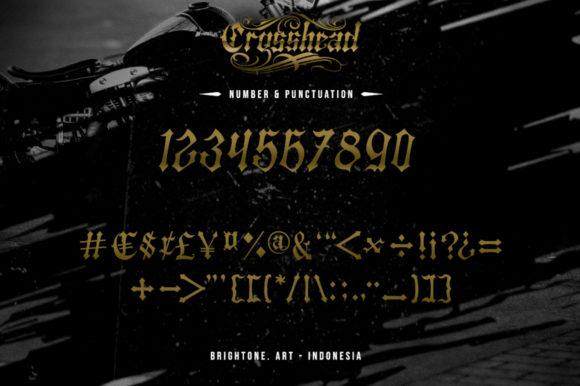 Crosshead Fonts 18070561 4