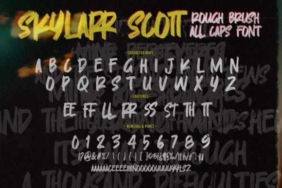 Skylarr Scott Fonts 18055766 3