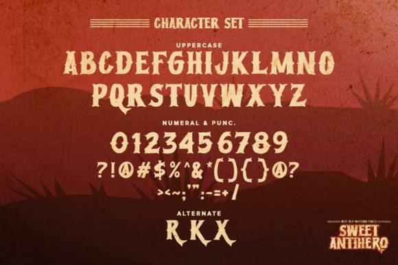 Sweet Antihero Fonts 18097830 2