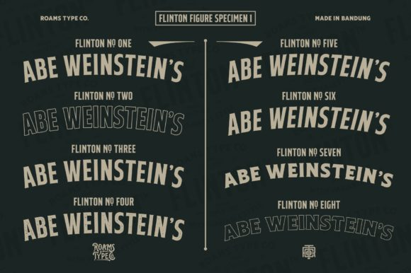 Flinton Family Fonts 18386811 2