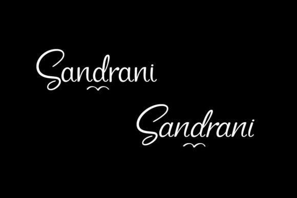 Sandrani Fonts 18410124 2
