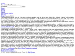 Blank Slate for WordPress