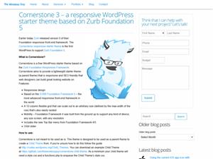 Cornerstone for WordPress