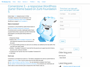 Cornerstone for WordPress