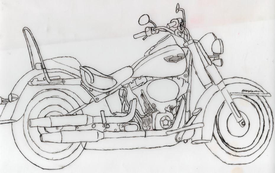 Motorbike Tattoo | Creative Future