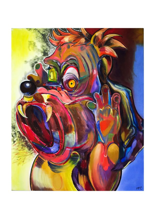 Screaming Droopy by Mandy McCartin