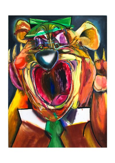 Screaming Yogi by Mandy McCartin