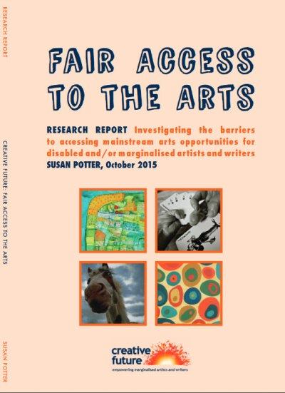 Cover of Fair Access to the Arts by Creative future