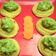 Patatas duquesa con guacamole