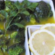 Brócoli al limón