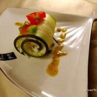 Sushi de calabacín