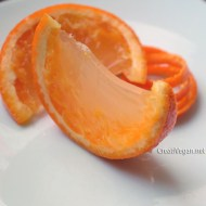 Naranjas gelatinizadas
