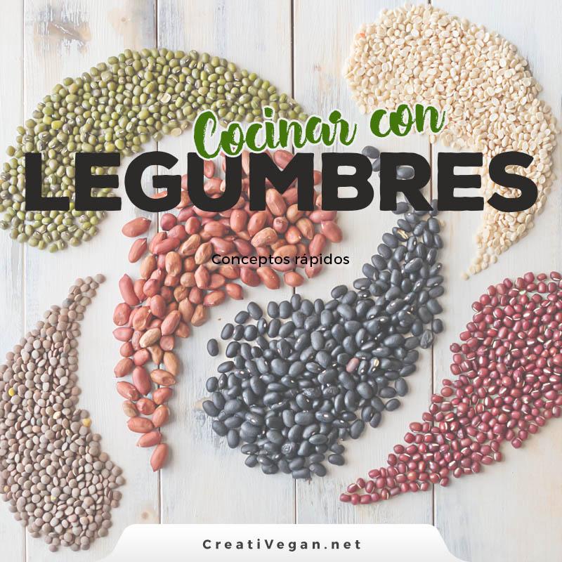 Cocinar legumbres: conceptos básicos