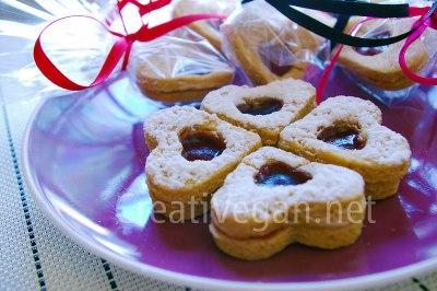 galletas rellenas de fresa