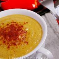 Sopa de estrellitas y crema de verduras